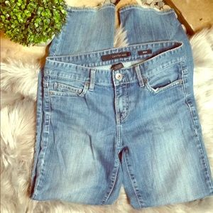 Distressed Calvin Klein skinny jeans 27/4